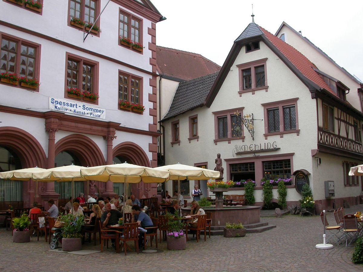 Außenansicht Weinhaus Mehling